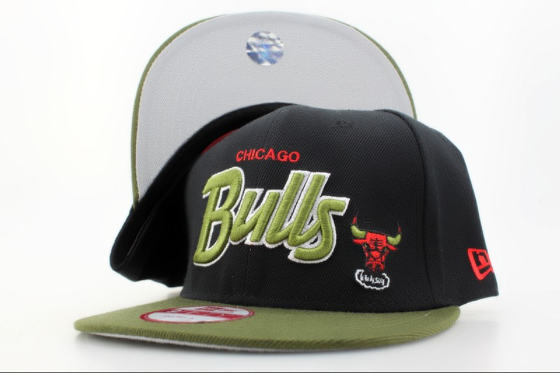 Chicago Bulls Snapback Hat QH 105